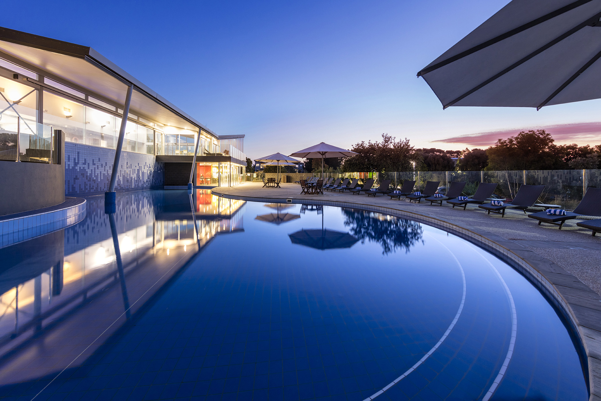 Resorts pools Melbourne
